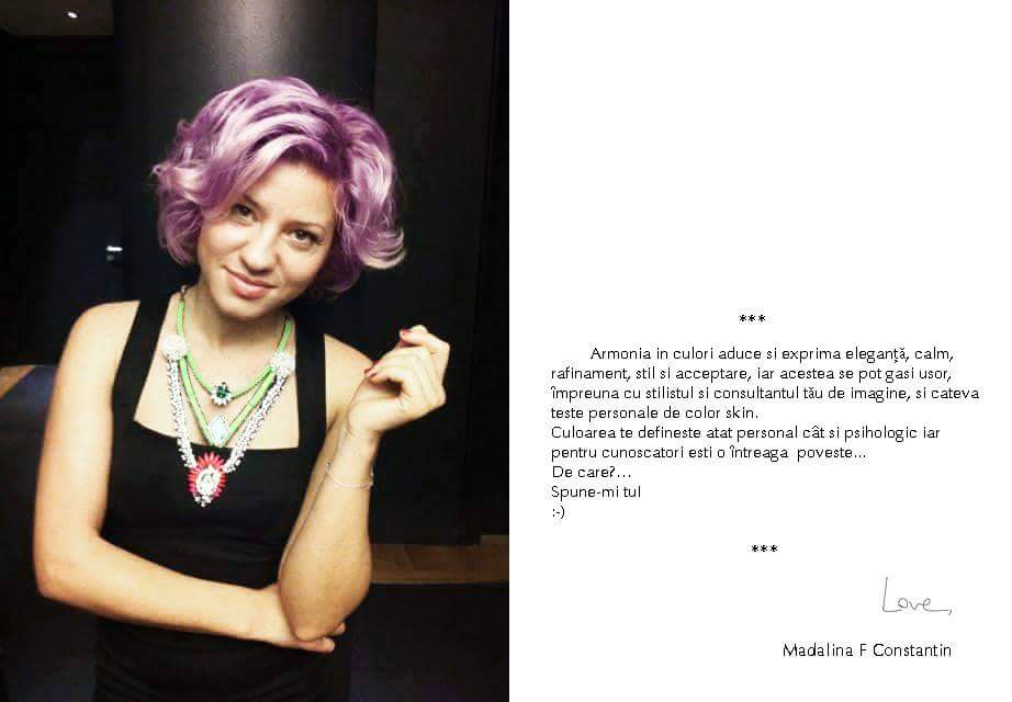 Madalina F Constantin