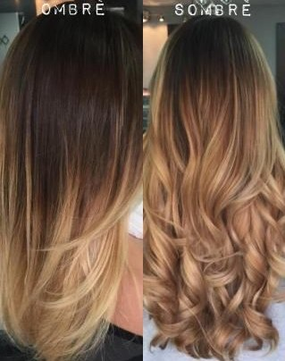 ombre, sombre difference