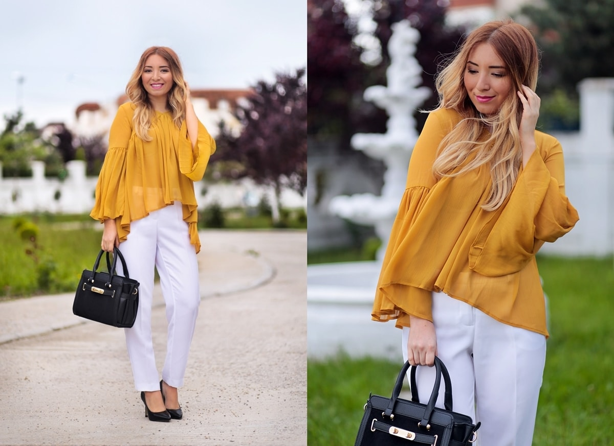 lookbook - mustard yellow