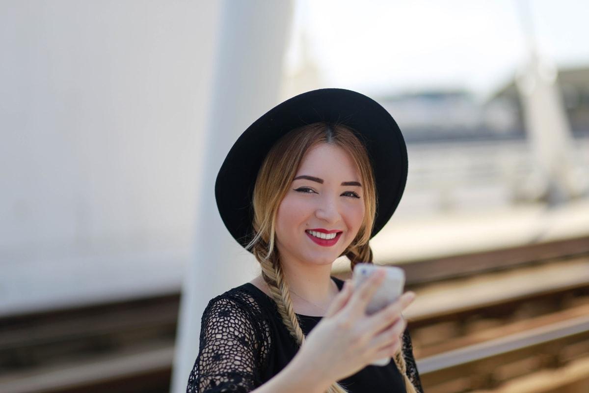 andreea ristea - selfie