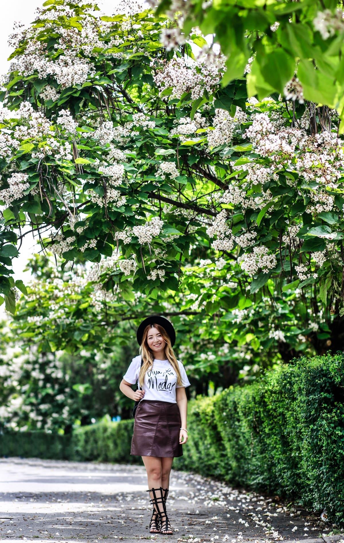 Andreea Ristea - blogger de moda Bucuresti, Romania