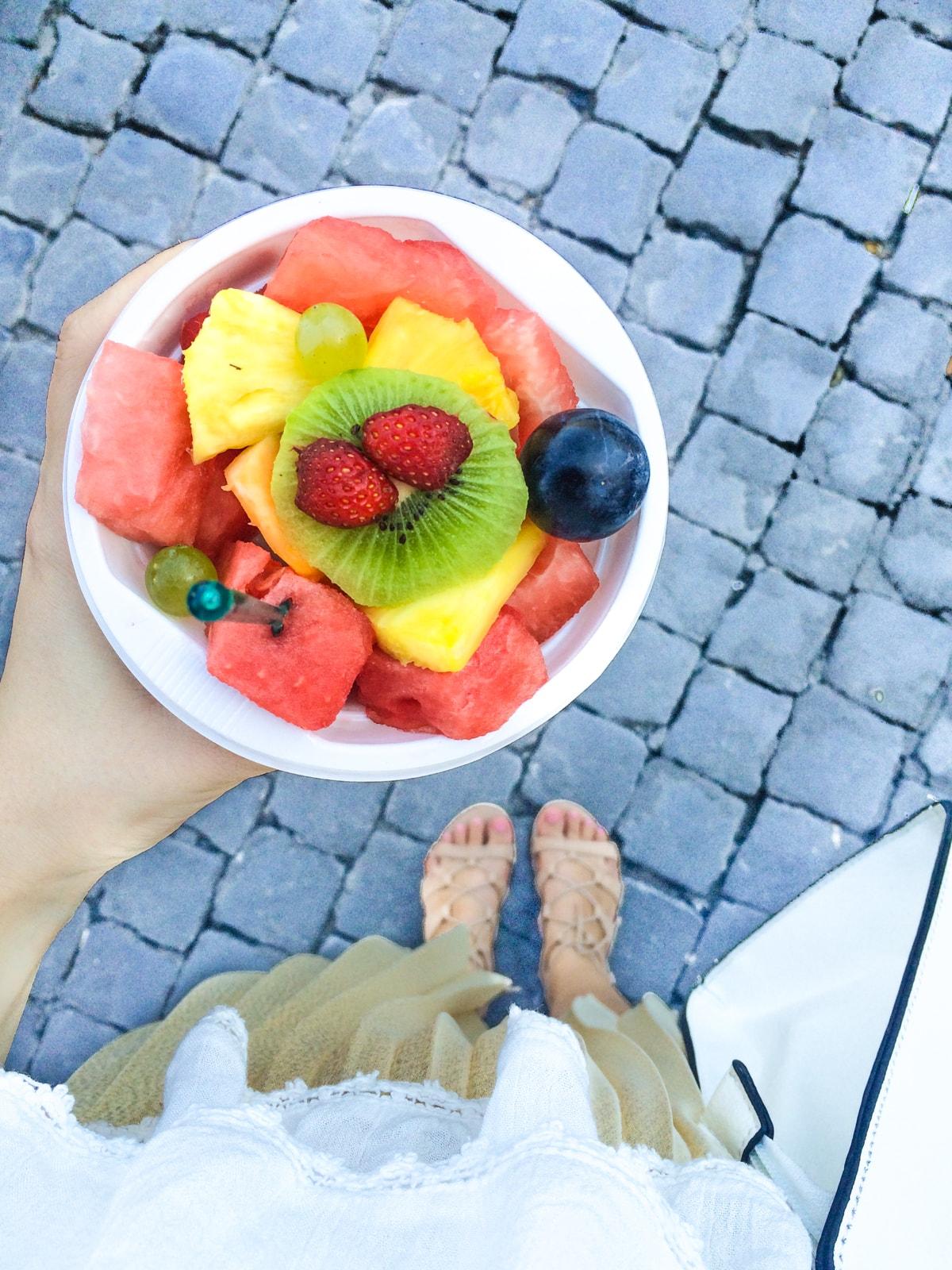 salata fructe, roma