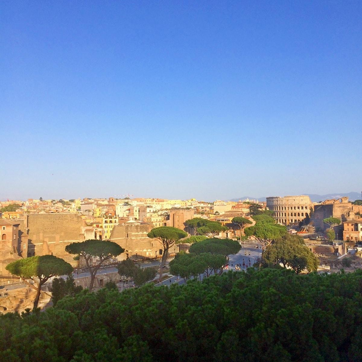 roma, terasa victor emmanuel II