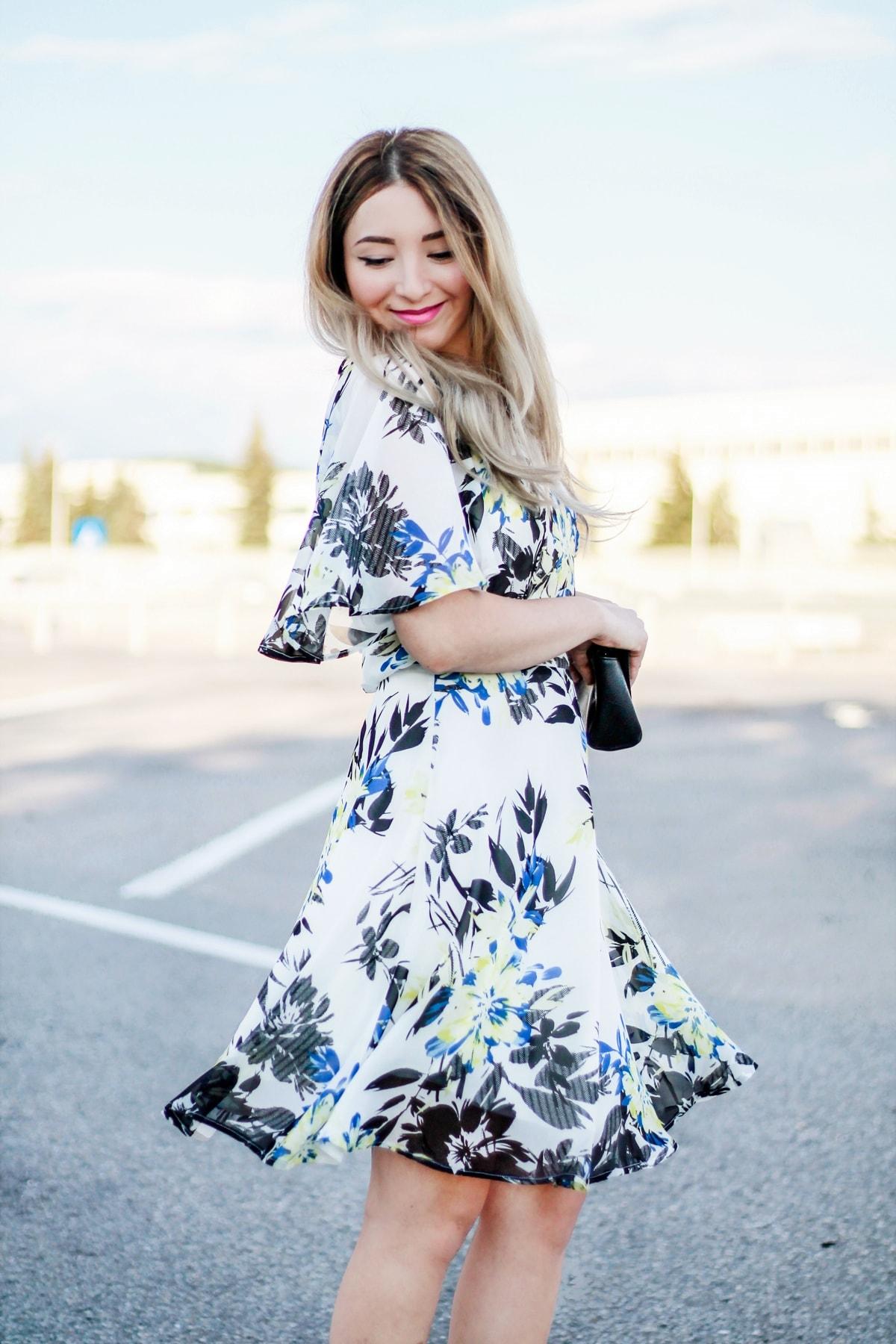 rochie imprimeu floral 2
