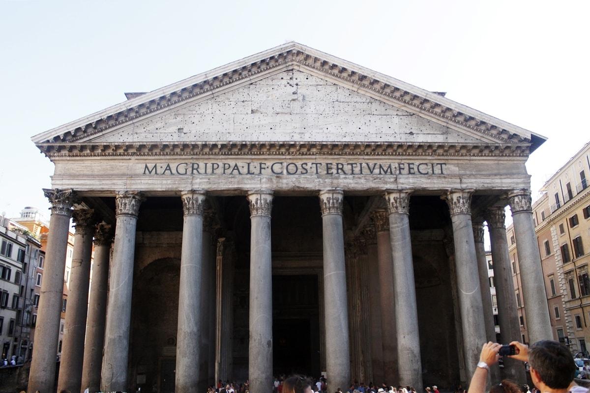 andreea ristea, travel post, pantheon