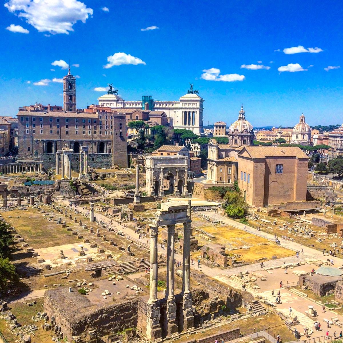 Forul roman, Roma, Italia