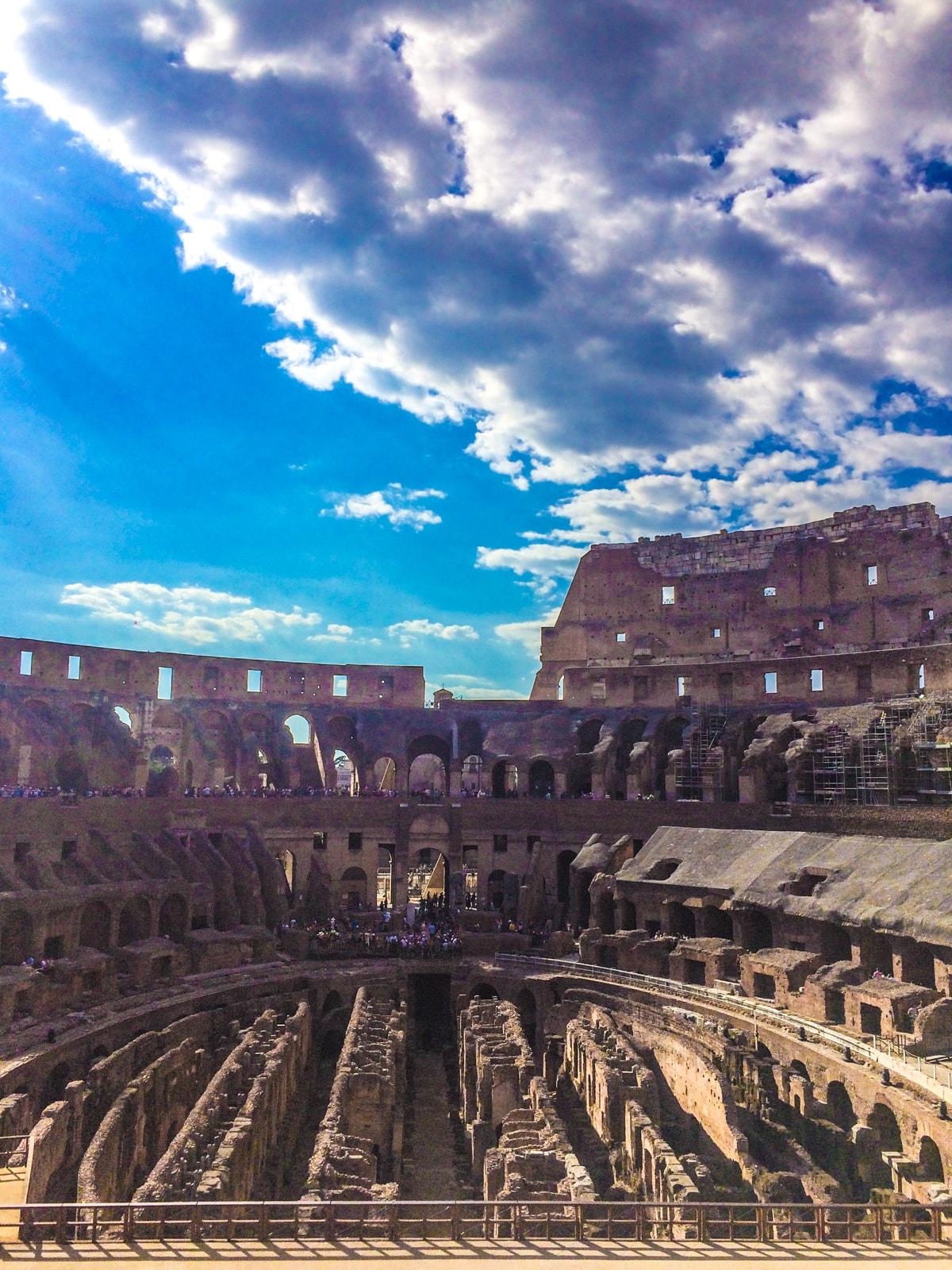 Colosseum - obiective de vizitat in Roma