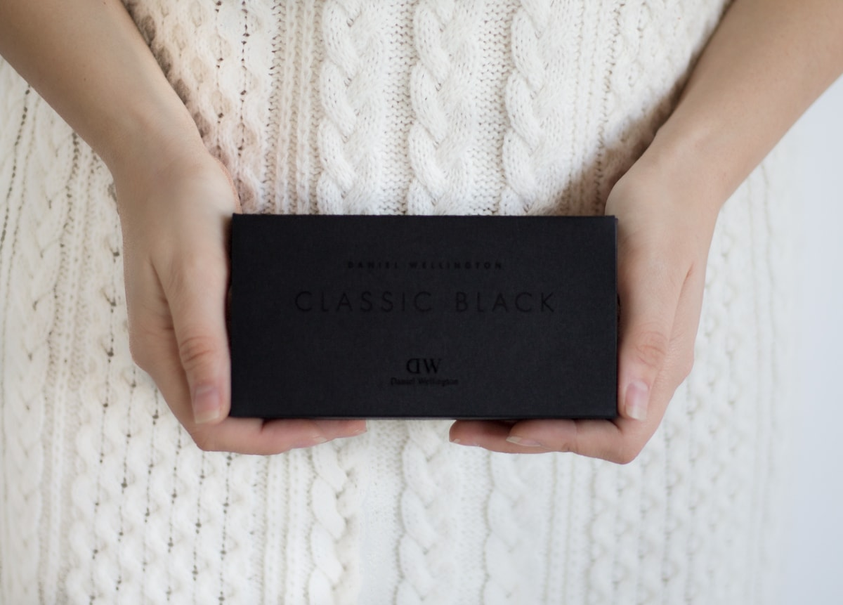 new daniel wellington classic black box