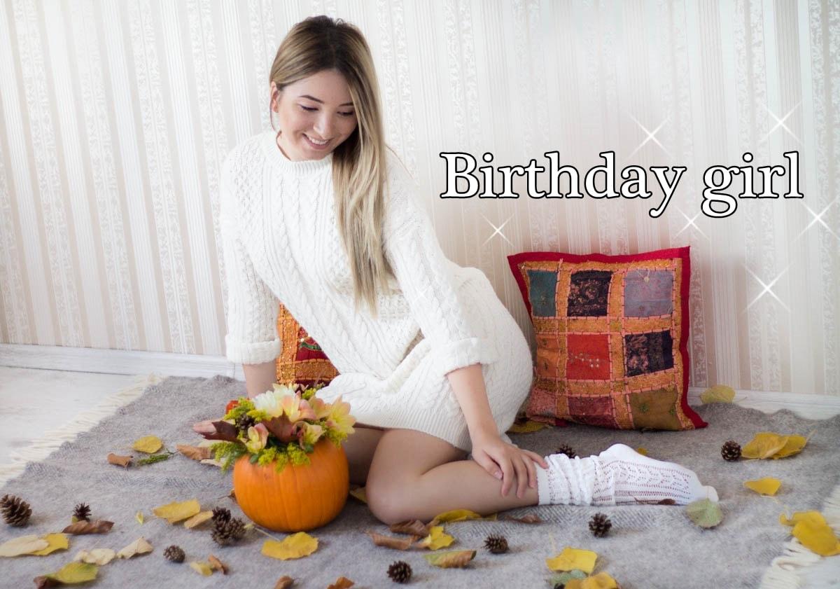 birthday girl, andreea ristea