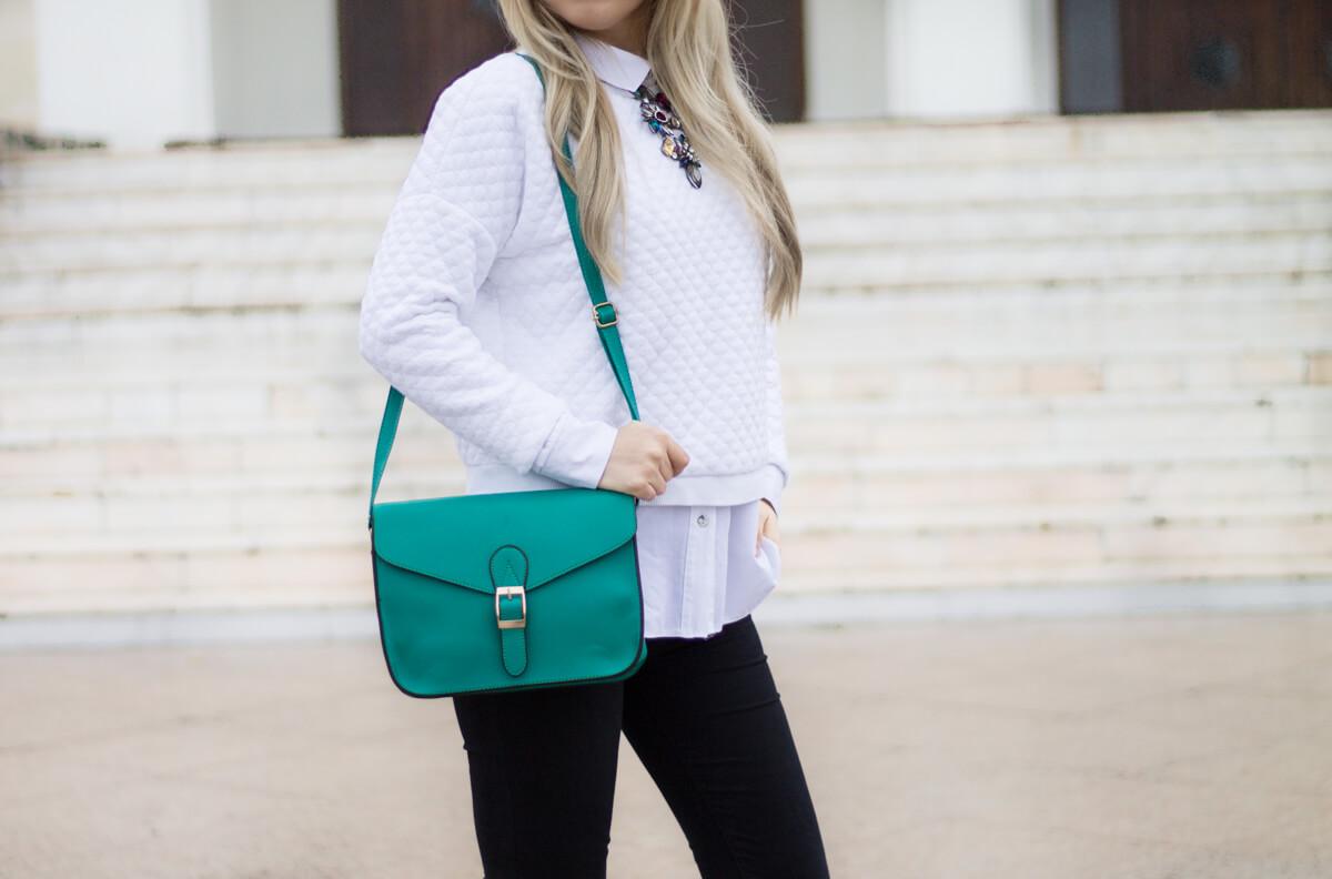 geanta verde gamiss, gamiss green bag