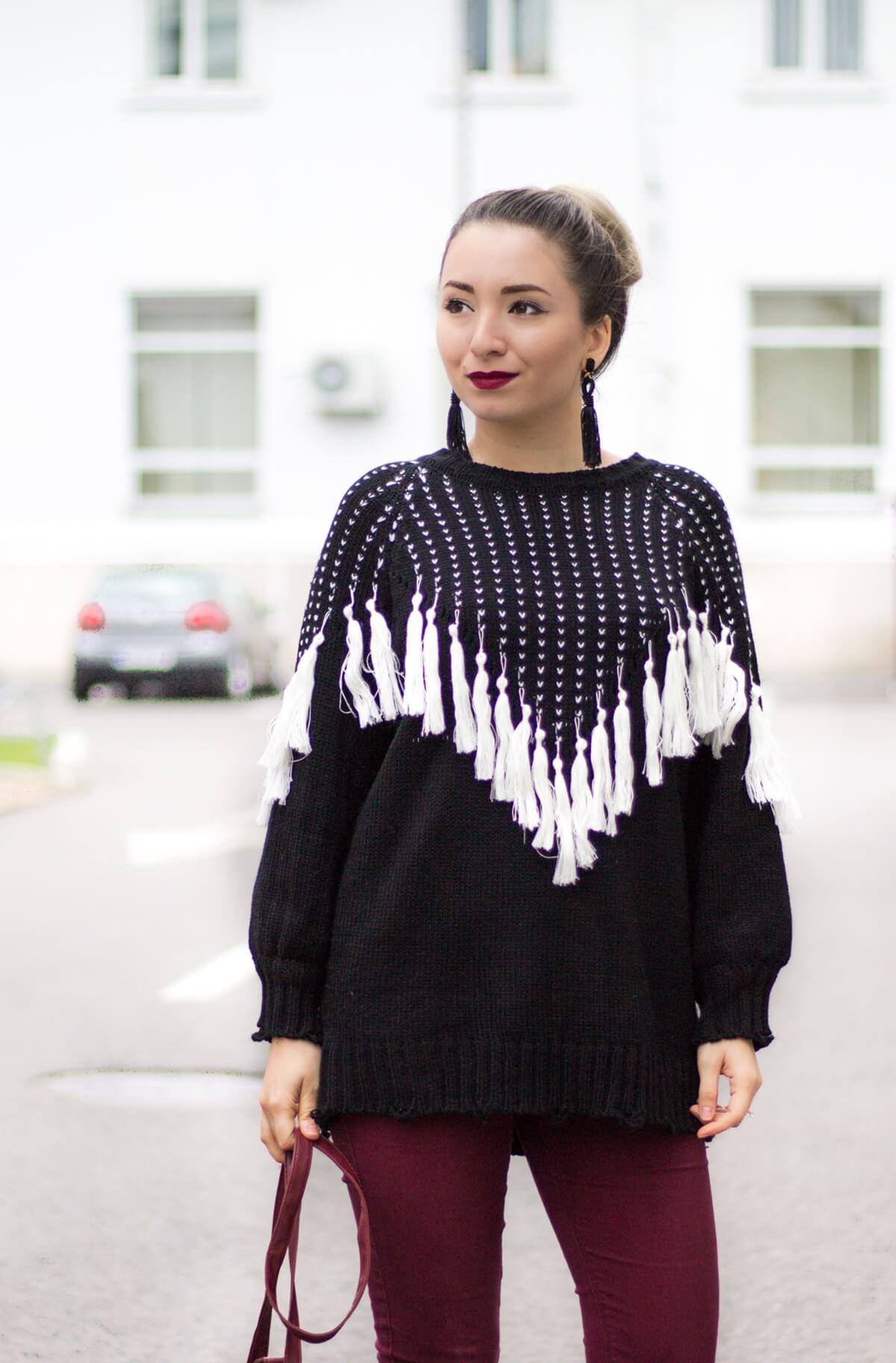 Andreea Ristea - pulover ciucuri Zaful