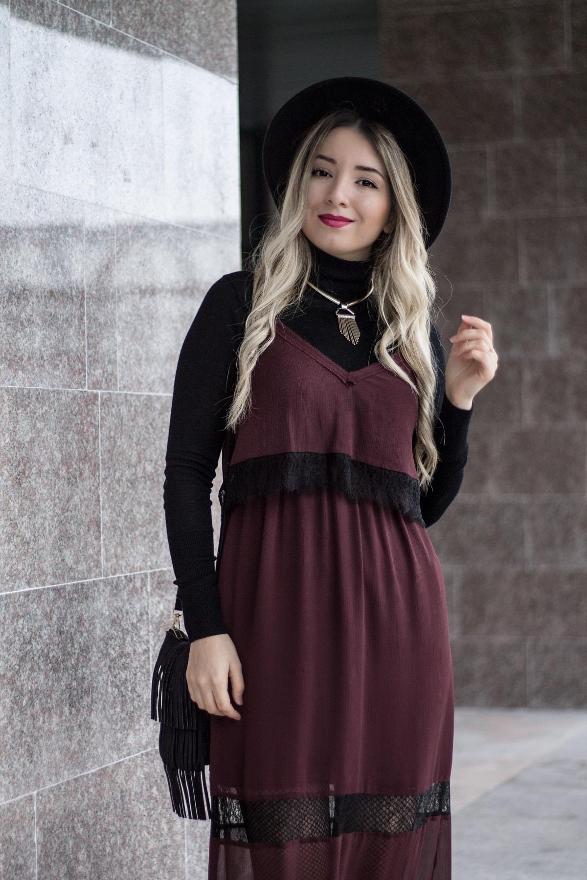 Andreea Ristea - cum purtam rochia furou toamna? Tendinte in moda toamna 2016