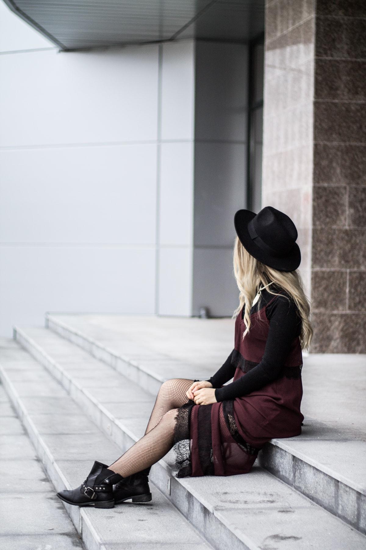 Andreea Ristea - blogger moda Pitesti