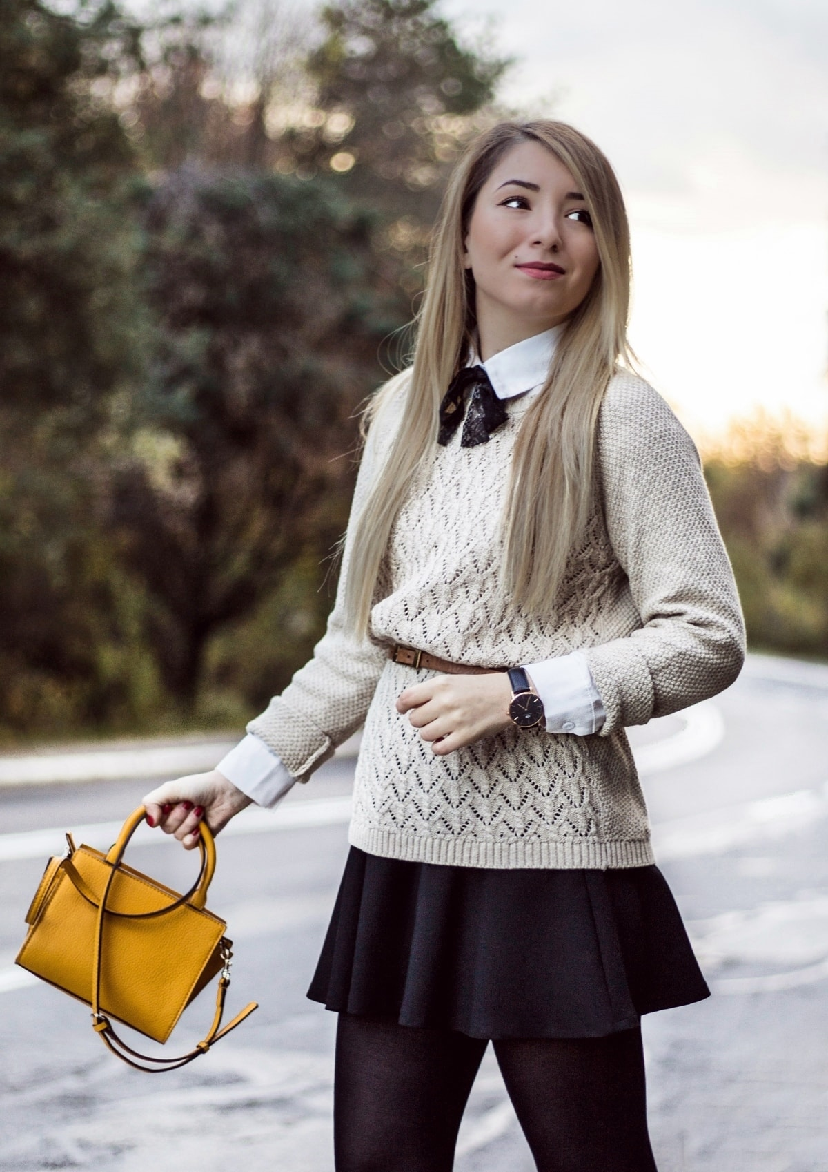 Andreea Ristea - blogger moda Pitesti, Arges