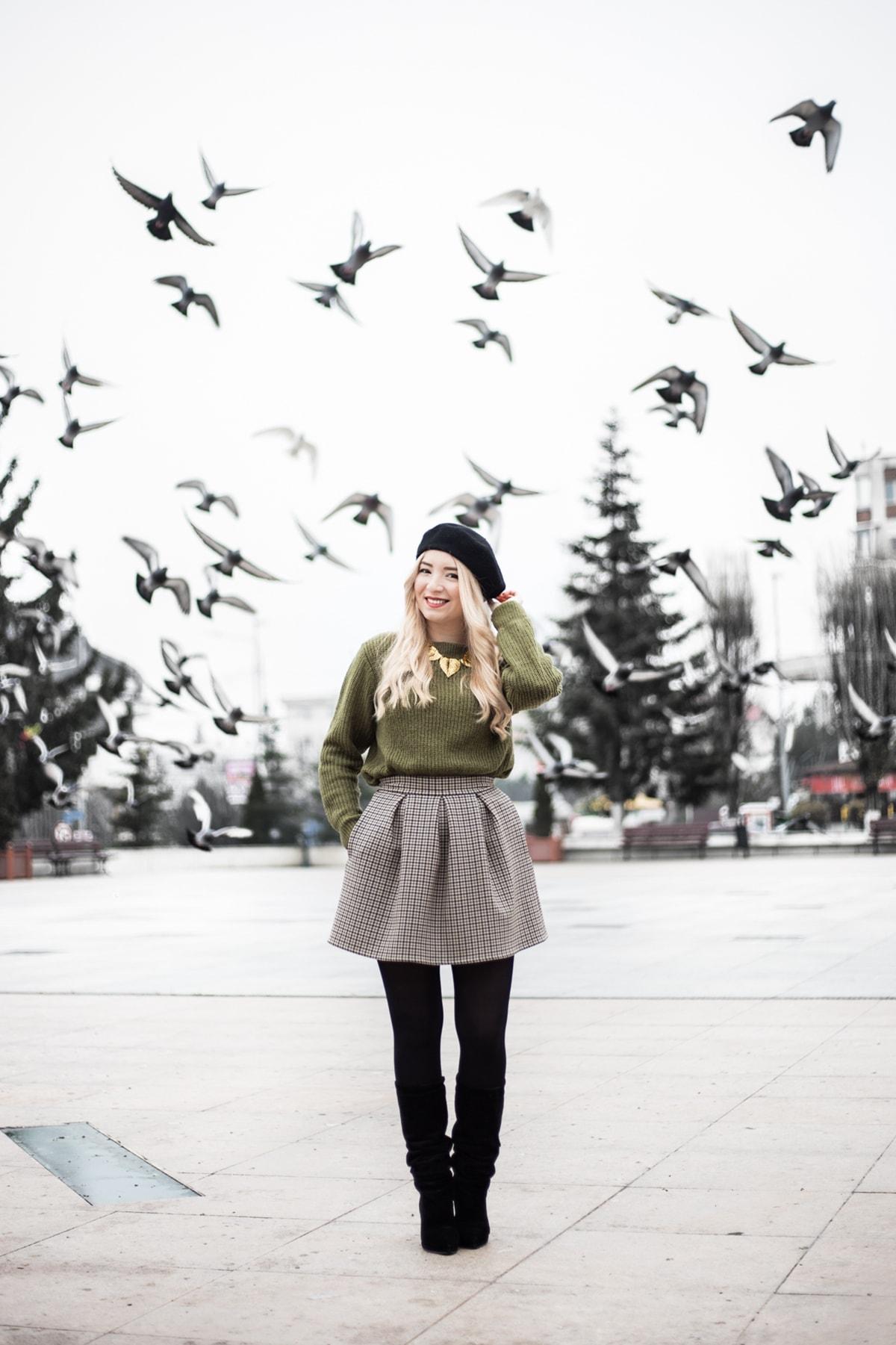 Andreea Ristea, poze porumbei, platou Casa de Cultura Mioveni, fotografie, Canon 6D