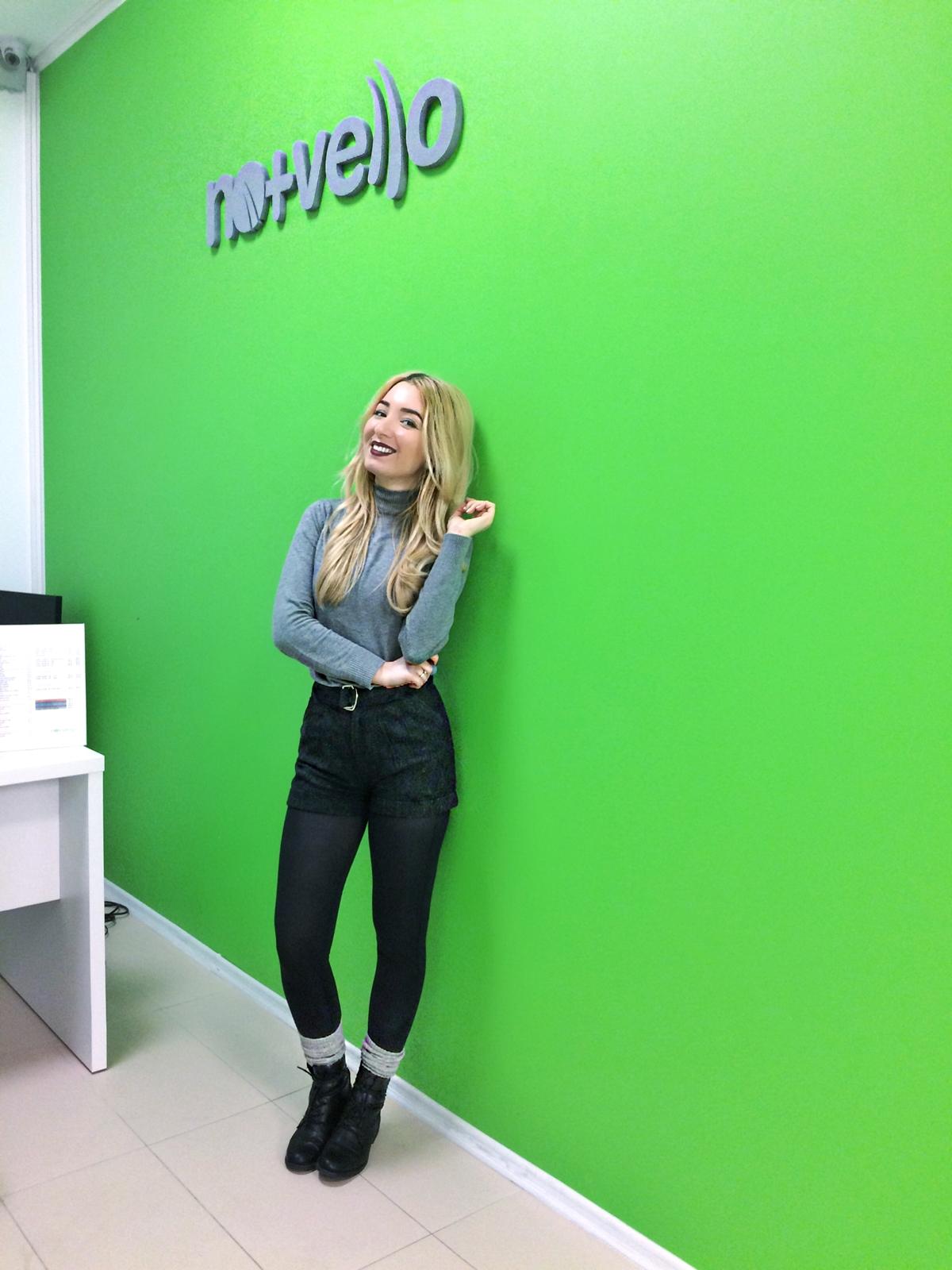 Andreea Ristea, blogger Pitesti, Nomasvello colaborare