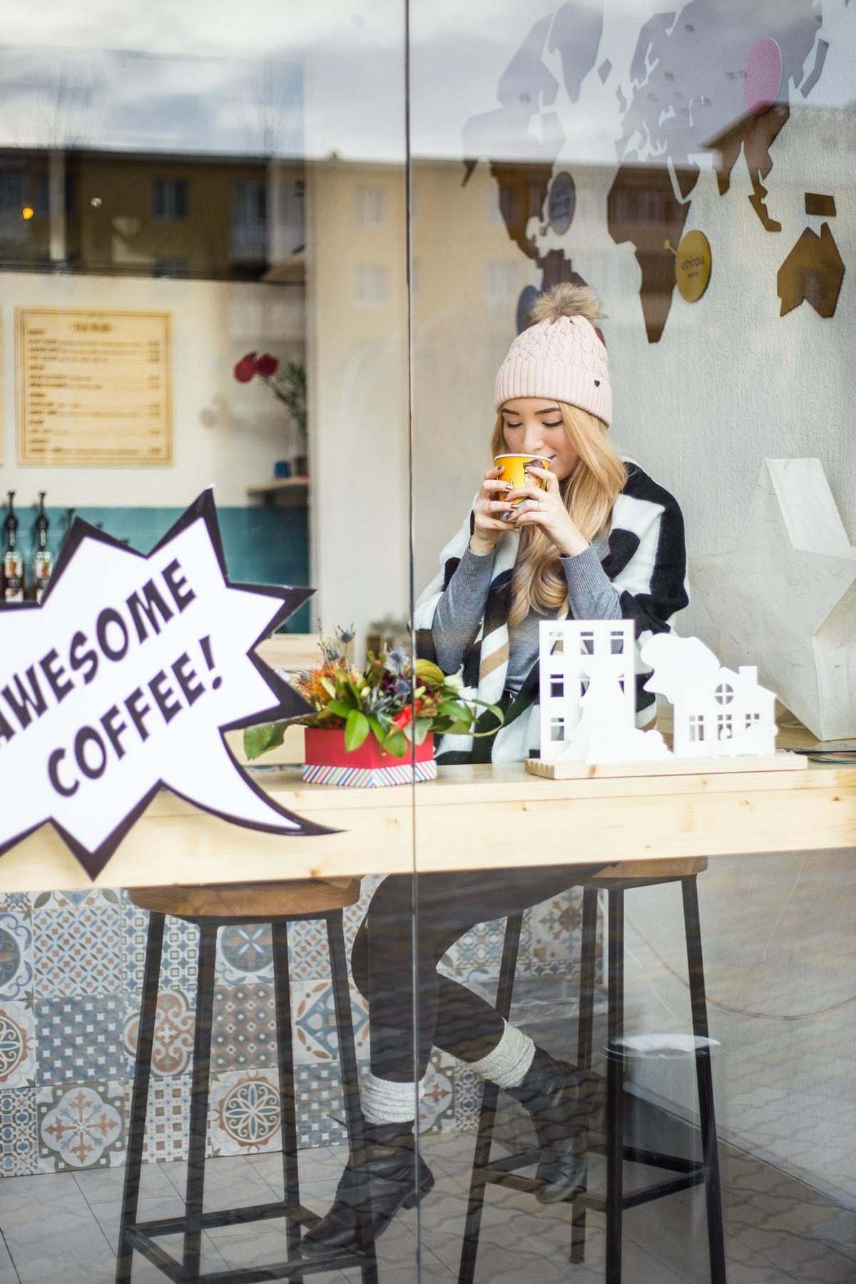 Andreea Ristea, povesti de iarna, blogger, colaborare 5 to go Pitesti