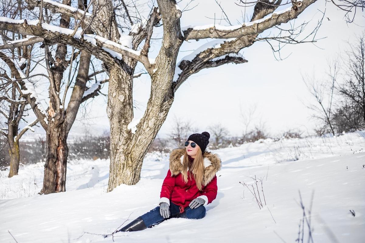 Andreea Ristea, shooting iarna, zapada, Mioveni, #ARwintermoments