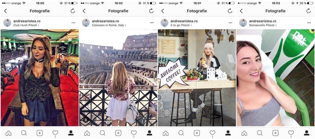 geo tags pe instagram